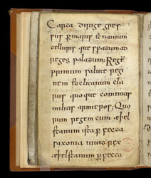 A Poem About King Aethelstan, in an Anglo-Saxon Prayerbook